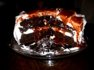 Drunken Irish Cake2