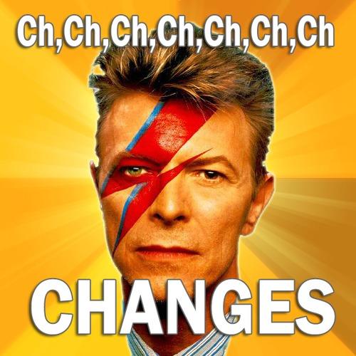 David Bowie changes