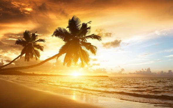 beach-sunset-beautiful-widescreen-hd-wallpapers